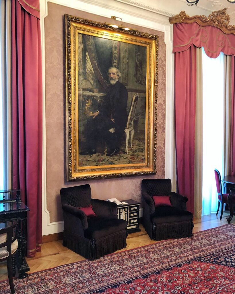Verdi Suite at Grand Hotel et de Milan