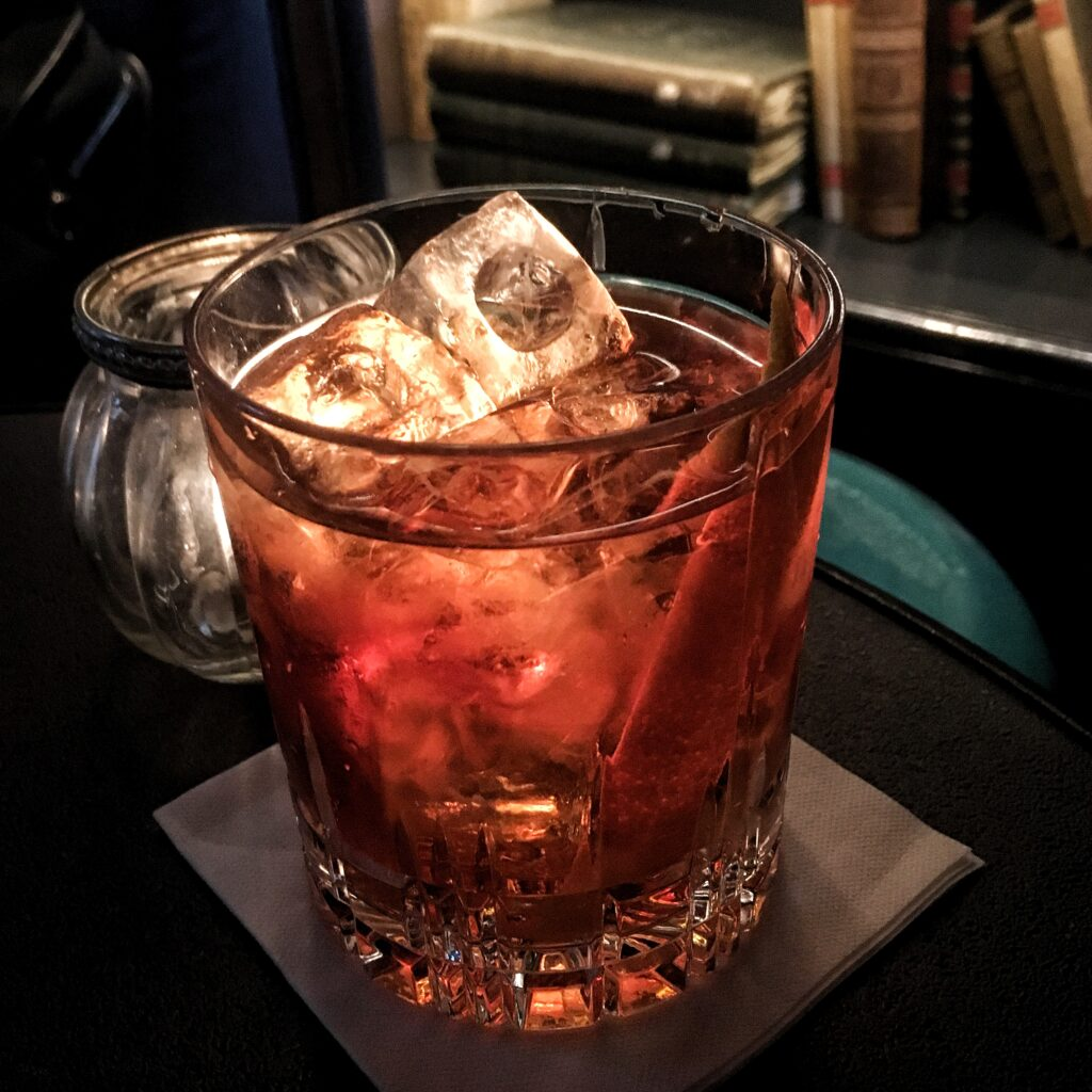 The Boulevardier Cocktail - at Pulitzer Amsterdam