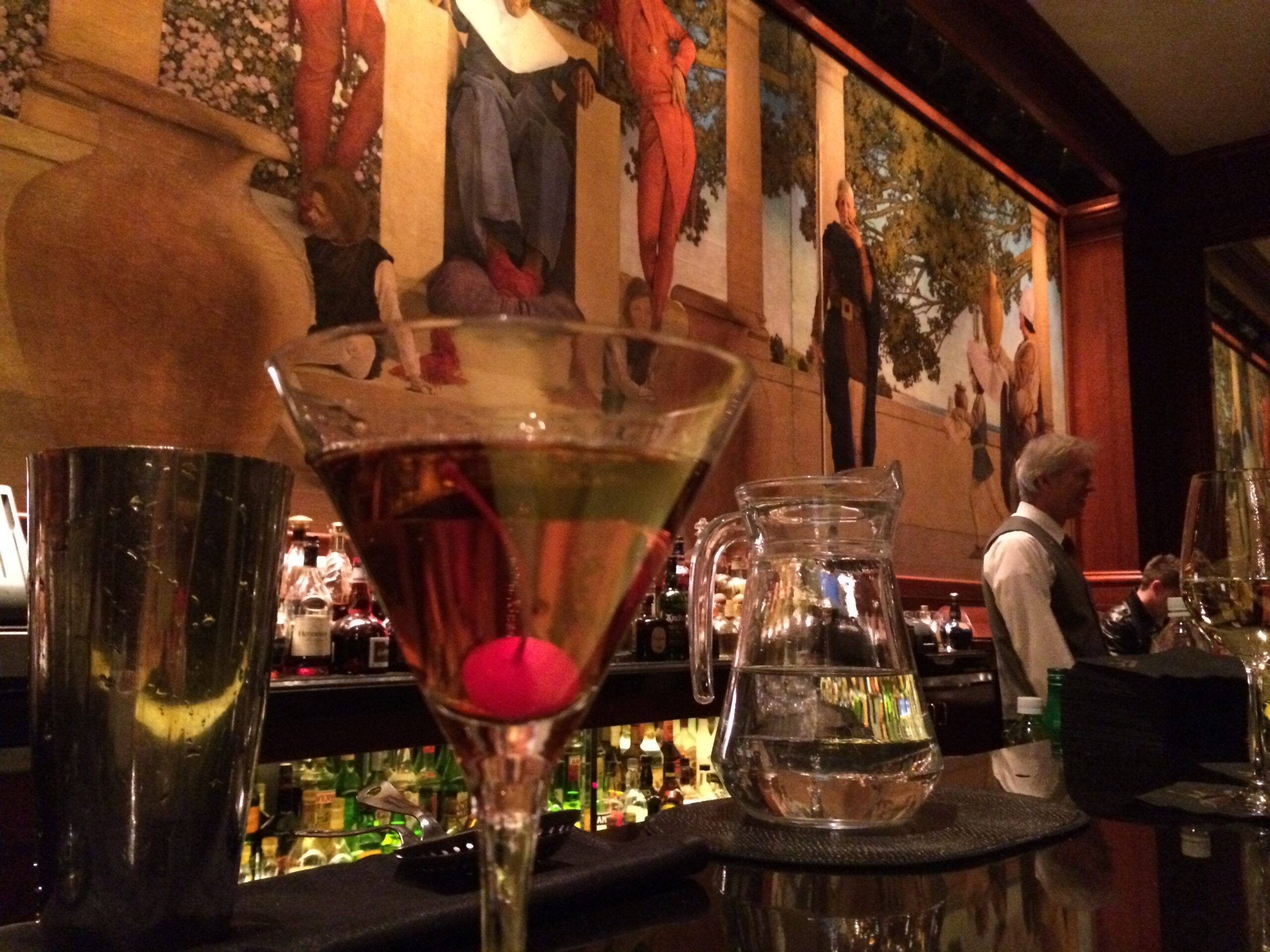 The King Cole bar at the St.Regis hotel New York